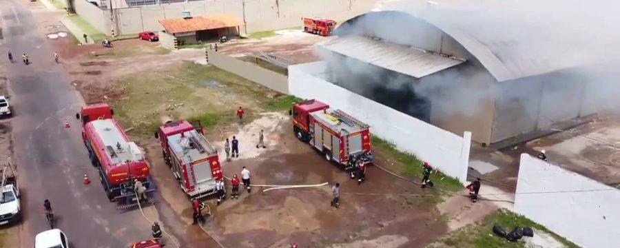 CBMPA COMBATE INCÊNDIO EM BENEVIDES