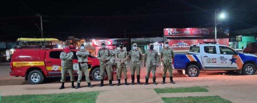QUEDA DE TORRE NA REGIÃO SUDOESTE DO ESTADO MOBILIZA GRUPAMENTOS DE TUCURUÍ E ALTAMIRA