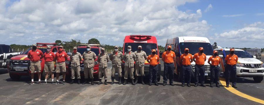 CBMPA PRESENTE NA REABERTURA DO AEROPORTO DE SALINÓPOLIS