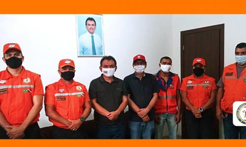Coordenador Adjunto da Defesa Civil se reúne com Prefeito Municipal  de Dom Eliseu