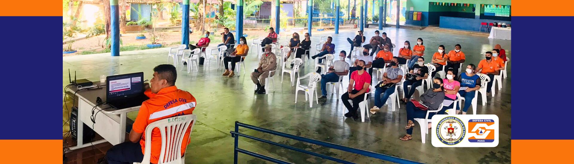 Corpo de Bombeiros e Defesa Civil realizam Capacitação no município de Pacajá