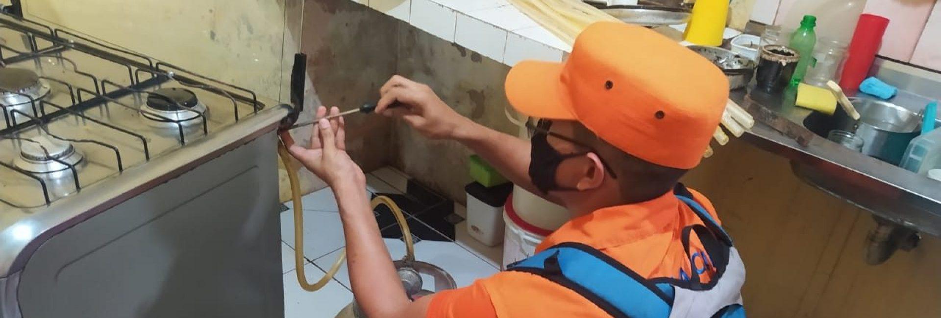 DEFESA CIVIL PROMOVE VISITAS E DISTRIBUIÇÃO DE KITS GÁS NO ICUÍ, EM ANANINDEUA
